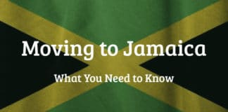 Jamaican Flag - International Removals to Jamaica - Moving to Jamaica