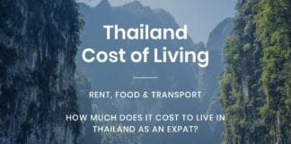 Thailand Scenery - International Removals - Cost of living