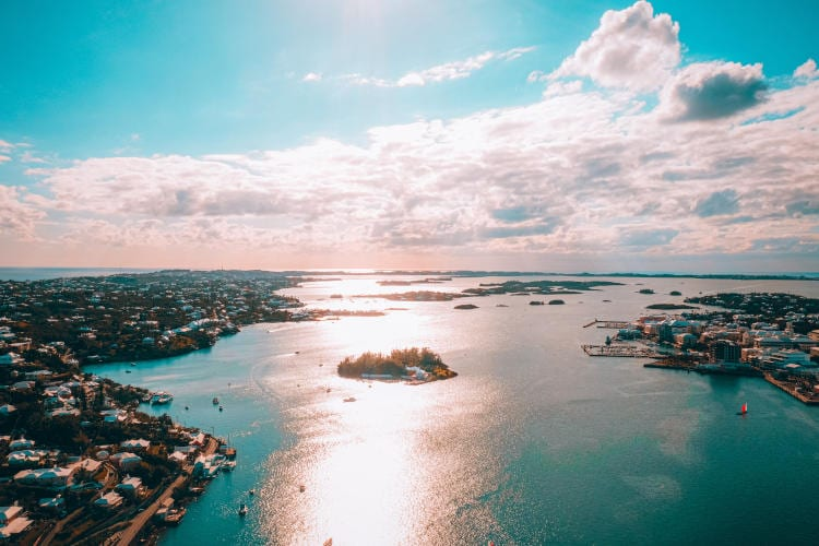 Bermuda - The best places for digital nomads after COVID-19