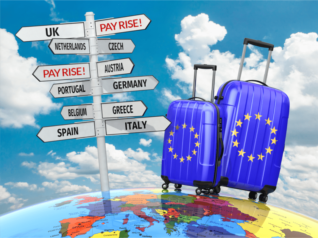 You could leave the EU yourself for an instant pay rise!