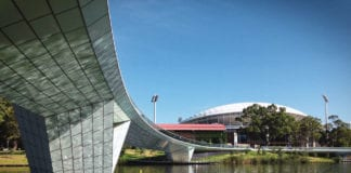 Adelaide Oval Footbridge