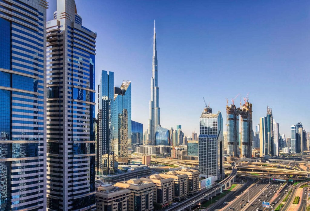 Dubai  - The best places for digital nomads after COVID-19