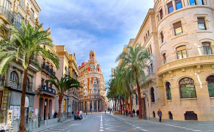 Valencia, Spain - The best places for digital nomads after COVID-19