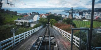 wellington cable car tracks