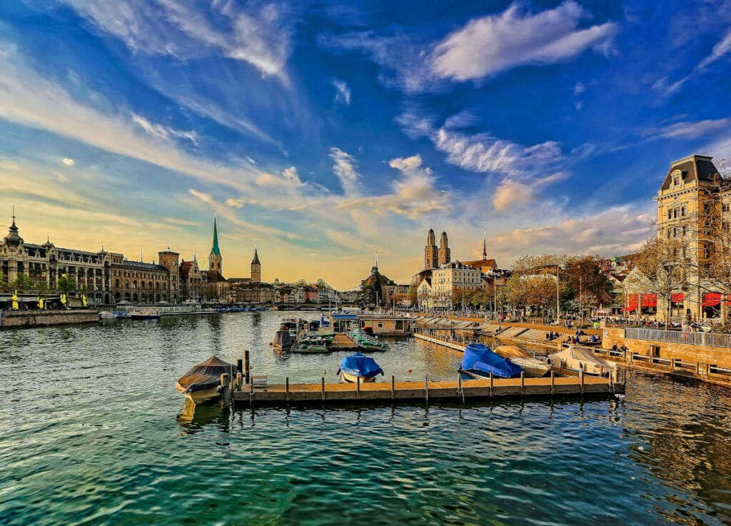 Zurich, Switzerland - The Most Expensive Cities in the World for Expats